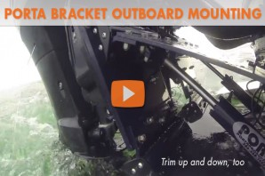 Porta Bracket Outboard Mounting System: Video