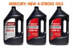 Mercury Introduces New Four-Stroke Oils