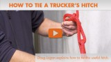 How to Tie a Trucker's Hitch: Instructional Video