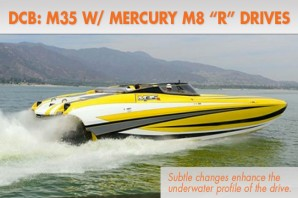 "DCB Delivers First M35 With Mercury M8 ""R"" Drives"