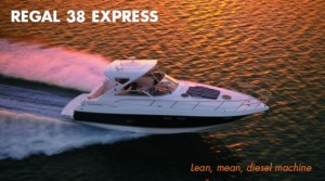 Regal 38 Express: Lean, Mean, Diesel Machine