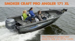 Smoker Craft Pro Angler 171 XL: Smoked Fish For Dinner