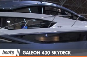 2014 Galeon 430 Sky Deck: First Look Video