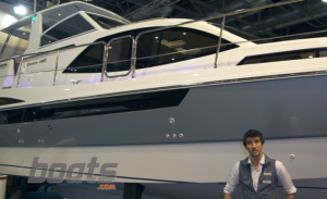 Broom 430 Aft-Cabin Cruiser: First Look Video