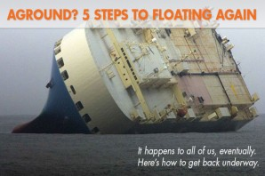 Aground! 5 Steps to Get an Outboard-Powered Boat Floating Again