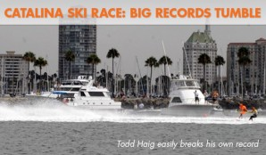 Catalina Ski Race Sees Big Records Tumble