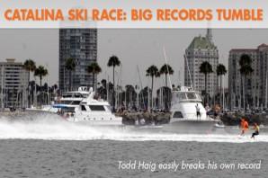 Catalina Ski Race Sees Big Records Tumble