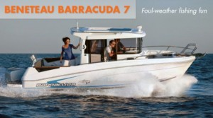 Beneteau Barracuda 7:  Foul Weather Fishing Fun