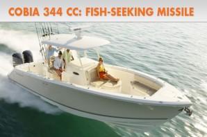 Cobia 344 CC: Fish-Seeking Missile