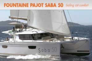Fountaine Pajot Saba 50: Sailing Catamaran Comfort