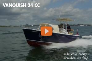 Vanquish 24 CC: Video Boat Review