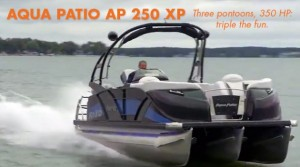 Aqua Patio AP 250 XP: High-Performance Pontoon