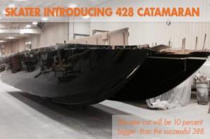Skater Introducing 428 Catamaran