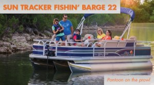 Sun Tracker Fishin Barge 22: Pontoon on the Prowl