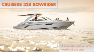Cruisers 328 Bow Rider: Bow Rider, or Weekender? Yes.