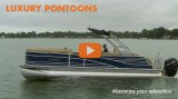 Luxury Pontoon Boats: Maximum Relaxation