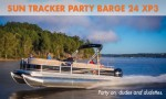 Sun Tracker Party Barge 24 XP3: Party On, Dudes