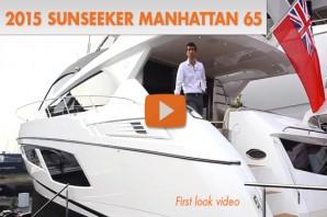 2015 Sunseeker Manhattan 65: First Look Video
