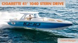 Cigarette 41' 1040 Stern Drive: Game Changer