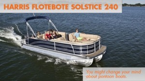 Harris FloteBote Solstice 240: Primo Pontoon