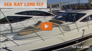 Sea Ray L590 Fly: First Look Video