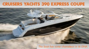 Cruisers Yachts 390 Express Coupe: Shapeshifter