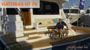 Hatteras 70 GT Video: Quick Tour