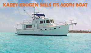 Kadey-Krogen Sells Its 600th Boat