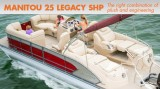 Manitou 25 Legacy SHP: Pontoon Luxury and Performance