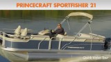 Princecraft Sportfisher 21: Video Boat Review