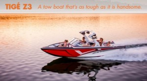 Tigé Z3: Brawny but Beautiful Tow Boat
