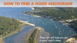 How To Find a Good Anchorage