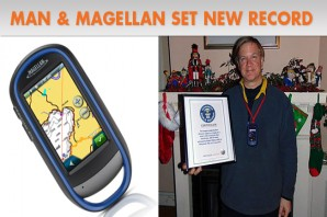 A Man, a Magellan, and a Guinness World Record