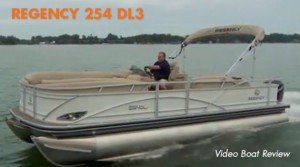 Regency 254 DL3: Video Boat Review