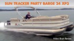 Sun Tracker Party Barge 24 XP3: Video Boat Review