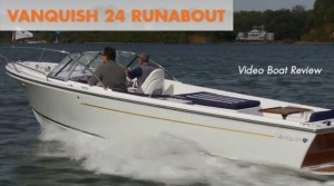 Vanquish 24 Runabout Video Boat Review