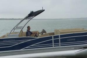 2015 Harris Grand Mariner SL 250: Video Pontoon Boat Review