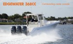 Edgewater 368CC: Commanding Center Console