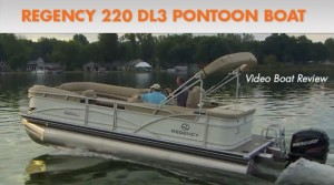Regency 220 DL3 Pontoon Boat: Video Boat Review