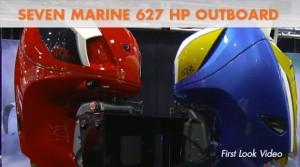Seven Marine 627 Outboard Debuts at the 2015 Miami Boat Show