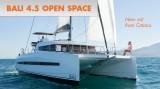 Bali 4.5 Open Space: A New Catamaran from Catana