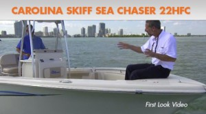 2015 Carolina Skiff Sea Chaser 22 HFC Video: First Look