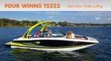 Four Winns TS222: Stern Drive Wake Surfing