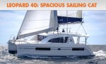 Leopard 40: Spacious Sailing, Catamaran Style