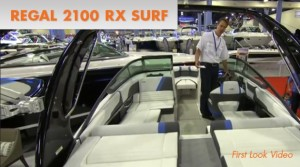 Regal 2100 RX Surf Video: First Look