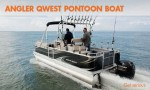 The Angler Qwest Pontoon Boat: Get Serious